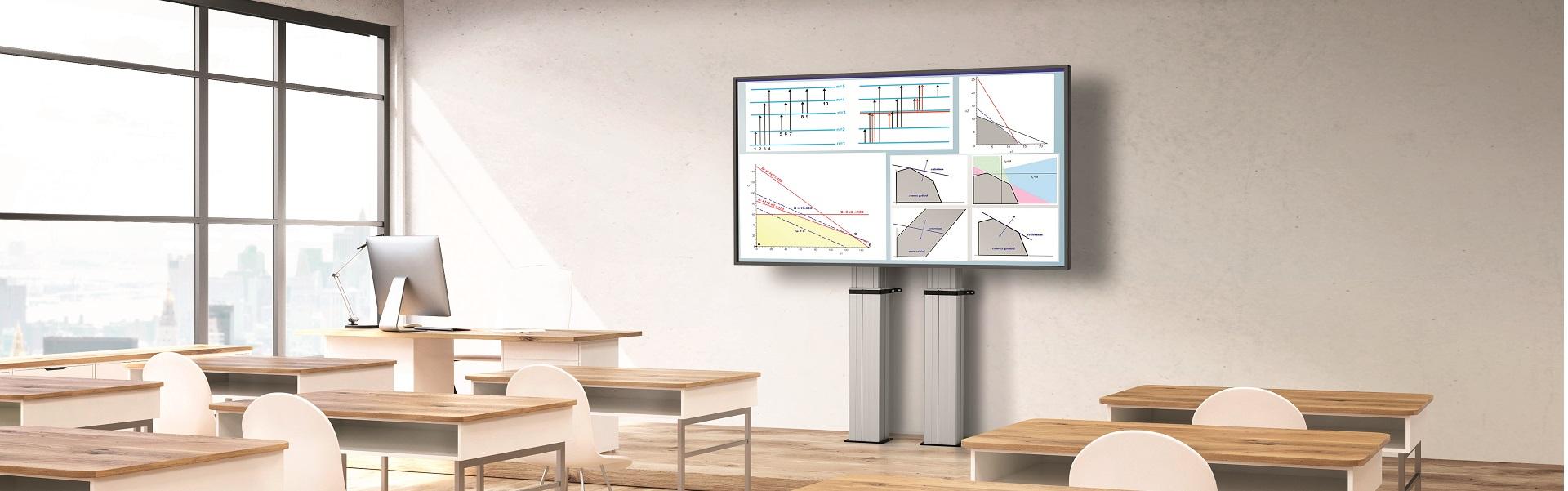 Motorizált tv tartó megoldások