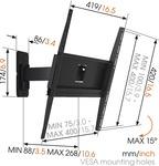 MA3030 fali TV konzol 400X400