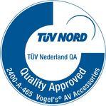 PFW4510 Fali TV konzol zárható Vogel's